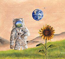 The Astronaut's Dream by Anton Van Dort