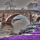 Bridge Over River Bann (Psychadelic) by joerelic37