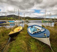 Wooden Boat Centre, Franklin, Tasmania #15 by Chris Cobern