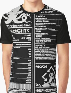 Human Ingredients (Simple) Graphic T-Shirt