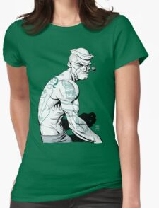 Popeyed Womens Fitted T-Shirt