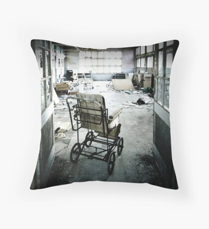 Damage Done Throw Pillow