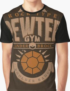 Pewter Gym Graphic T-Shirt