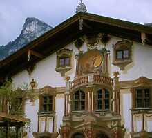 German Home near Neuschwanstein Castle by BearheartFoto