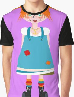 Red Head Girl Graphic T-Shirt