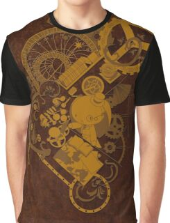 Steampunk Bunny Graphic T-Shirt