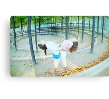 Partner Yoga Metal Print