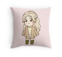 Taeyeon I chibi Throw Pillow