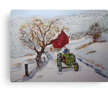 Morning Suprise Canvas Print