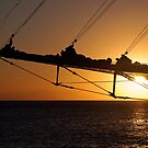 Bowsprit Sunset by Leon Heyns
