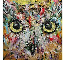Mystic Owl Photographic Print