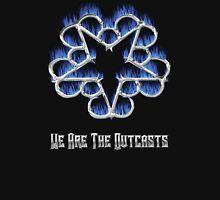 Fiery Chrome Black Veil Brides Star - We Are The Outcasts Unisex T-Shirt