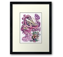 The Power of Imagination Framed Print