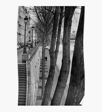 Bords de Seine Poster