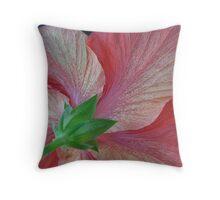 Hibiscus Throw Pillow
