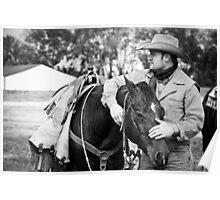Cowboy & His Partner Poster