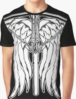 Angel Wings and Crossbow (Clean) Graphic T-Shirt