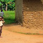 Village children, Uganda, Africa by Hannah Nicholas