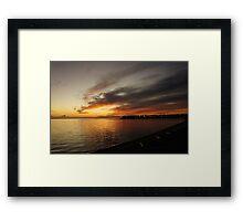 Tarpon Springs Framed Print