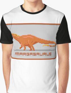 Pixel Amargasaurus Graphic T-Shirt