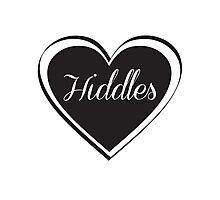 Hiddles Love Photographic Print