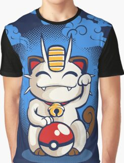 Lucky Meowth Graphic T-Shirt