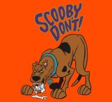Scooby Don't! Kids Tee