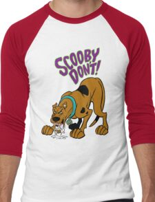 Scooby Don't! Men's Baseball ¾ T-Shirt