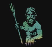 KING NEPTUNE TEE by GUS3141592