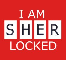I AM SHER - LOCKED Kids Tee