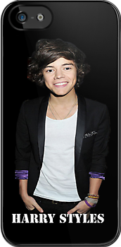 Harry Styles iPhone Case by cassiidy