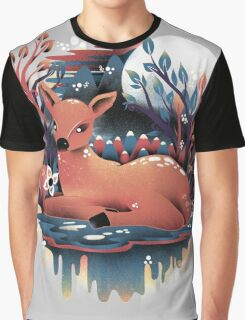 The Red Deer Graphic T-Shirt