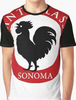 Black Rooster Sonoma Chianti Classico  Graphic T-Shirt