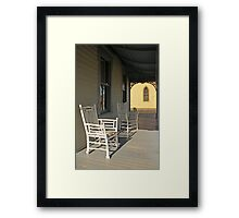 Sit Down and Rest Framed Print