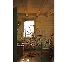 Spinning Yarn Photographic Print