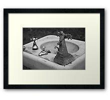 Angel Sink Framed Print