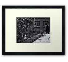 quiet reflection Framed Print