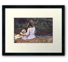 My mothers memories Framed Print