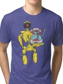 loader bot & gortys Tri-blend T-Shirt