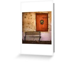 Stable door ~ The Brewery, Goulburn NSW Greeting Card