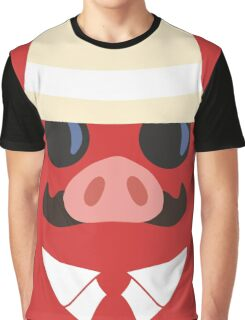 Minimal Porco Graphic T-Shirt