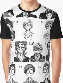 All of the Doctors Graphic T-Shirt