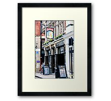 The Clachan Pub Framed Print
