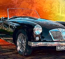 1957 MGA by Andy and Von Quinn