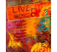 In LIVING Color Photographic Print