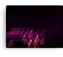 Pink Army.... Canvas Print