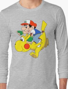 Ashio and Pikashi Long Sleeve T-Shirt