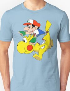 Ashio and Pikashi Unisex T-Shirt
