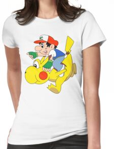 Ashio and Pikashi Womens Fitted T-Shirt