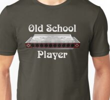 Old School Harp Player Unisex T-Shirt